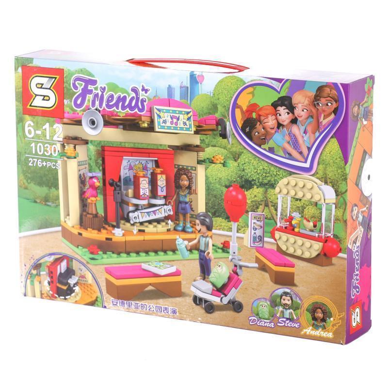 "Конструктор Senco SY1030 (Аналог Lego Friends 41334) ""Сцена Андрэа в парке"" 276 деталей"