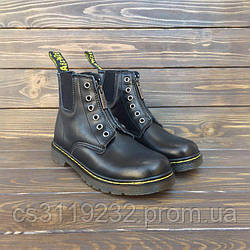 Мужские ботинки Dr Martens 101 GUSSET Black демисезонные (черный)