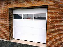 Гаражные ворота ALUTECH Trend 40, Ворота ALUTECH Trend 40 4250x2250
