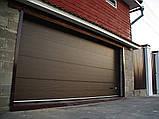 Гаражные ворота ALUTECH Trend 40, 5750x2500, фото 2