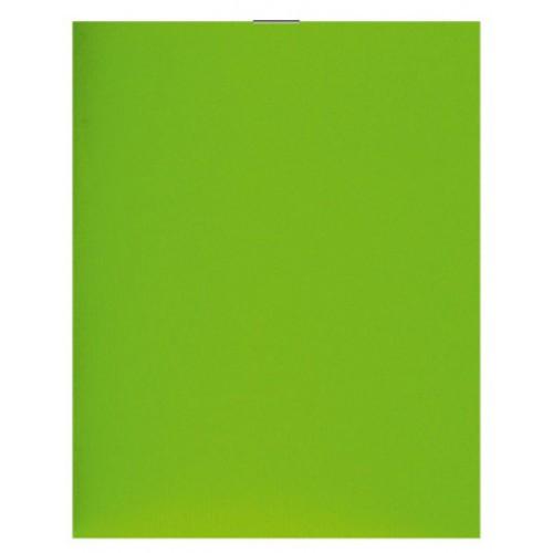 Блокнот на скобе А6 36 листов пластиковая обложка