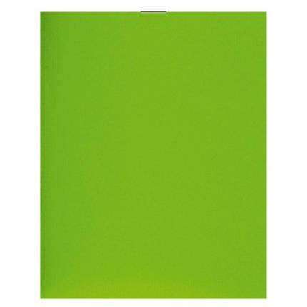 Блокнот на скобе А6 36 листов пластиковая обложка, фото 2