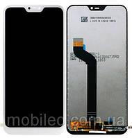 Дисплей (LCD) Xiaomi Redmi 6 Pro   Mi A2 Lite с тачскрином, белый
