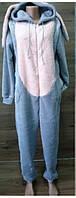 Пижама кигуруми с капюшоном и ушами для детей от 10 лет, фото 1