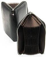 Женская кожаная визитница Dr Bond Незаменимый помощник Оригинальный дизайн 36 карманов для карт Код: КГ9970