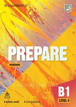 Cambridge English Prepare! Second Edition 4 Workbook with Audio Download / тетрадь