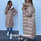Двусторонняя стеганая куртка-плащ, фото 2
