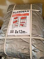 Тент Tenexim Super Mocny 8x12 м. Тарпаулін 160 г/м2, срібний з УФ-захистом