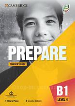 Prepare! Second Edition 4 Teacher's Book with Downloadable Resource Pack / Книга для учителя