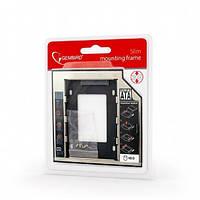 """Фрейм-перехідник Gembird HDD 2.5"""" 12.5 mm для ноутбука (MF-95-02)"""