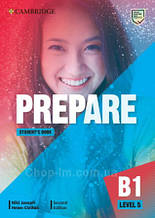 Учебник Cambridge English Prepare! Second Edition 5 Student's Book