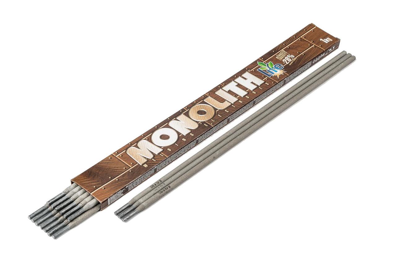"""Електроди Моноліт """"MONOLITH"""" РЦ Ø 2,5 мм (упаковка - 1 кг)"""