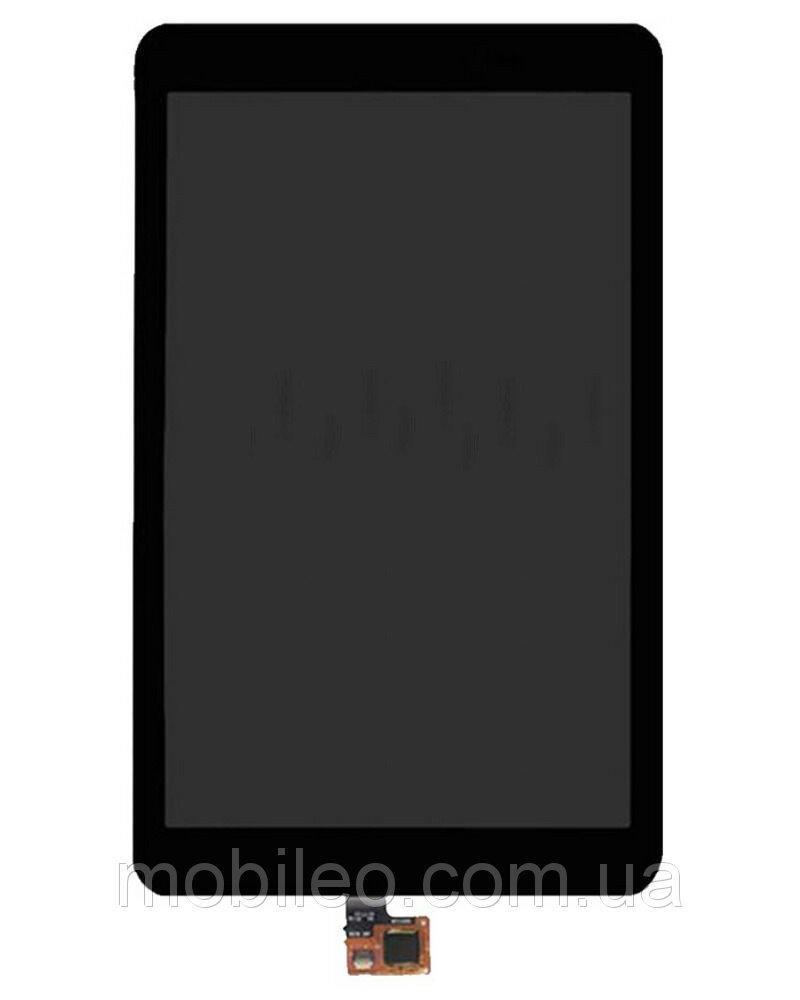 Дисплей (LCD) планшет Huawei MediaPad S8-701U с тачскрином, чёрный