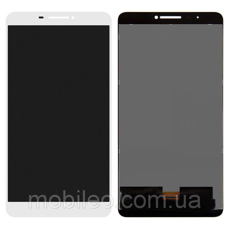 Дисплей (LCD) планшет Lenovo PB1-750M Lte Phab с тачскрином, белый