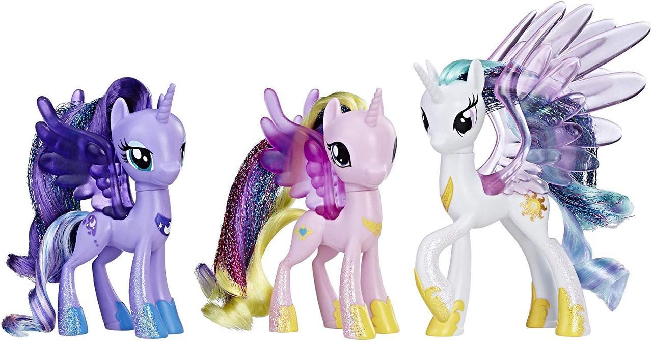 Набір My Little Pony Фестиваль дружби Парад принцес Селестія, Місяць і Каденс Оригінал з США