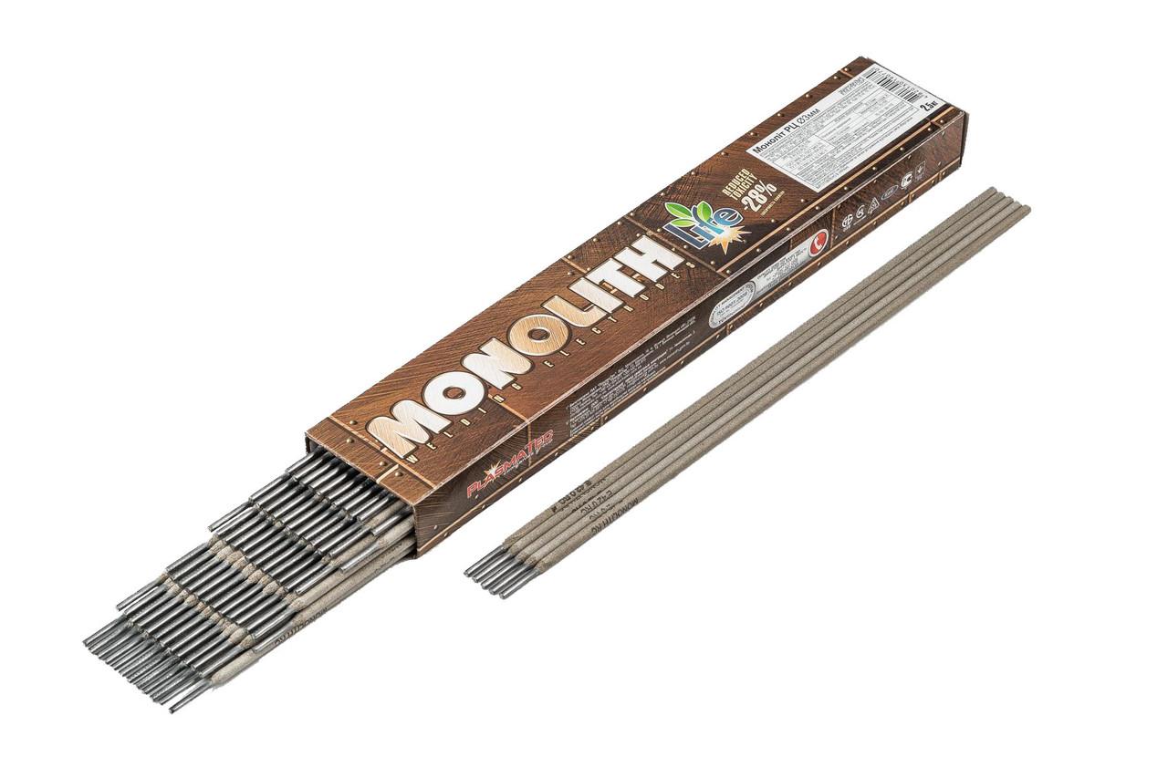"""Електроди Моноліт """"MONOLITH"""" РЦ Ø 2,5 мм (упаковка - 2 кг)"""