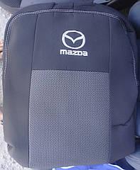 Чехлы Elegant на MAZDA 6 Sedan 2019- (EU) автомобильные модельные чехлы на для сиденья сидений салона Mazda 6