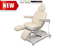 Педикюрное кресло модель 3872-3M (3 мотора) ( Белый / Бежевый / Черный )
