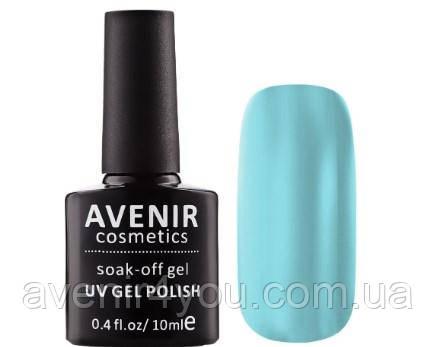 Гель-лак AVENIR Cosmetics №124. Нежный голубой