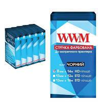 Лента к принтерам WWM 8мм х 14м HD Black (R8.14H5)