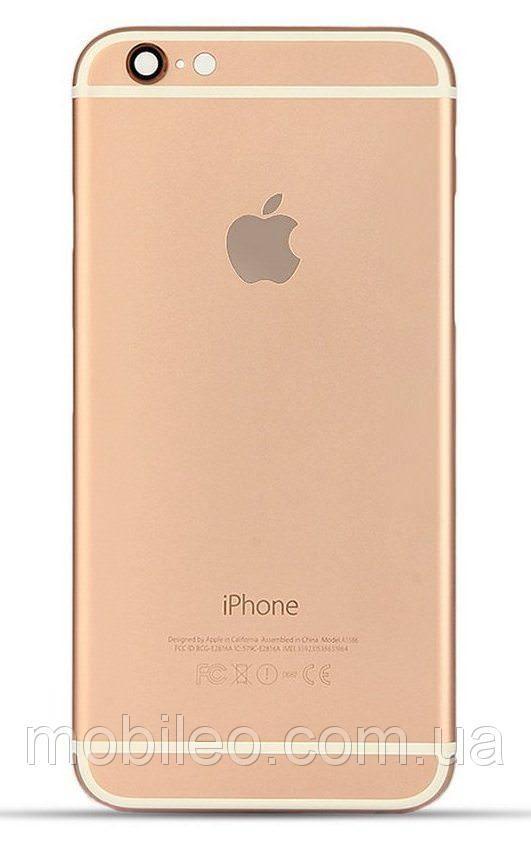Задняя крышка Apple iPhone 6 золотистая