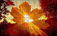 Пазл - Осенняя романтика 180х130 мм