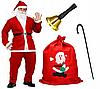 Полный рождественский набор Санты - 8 элементов
