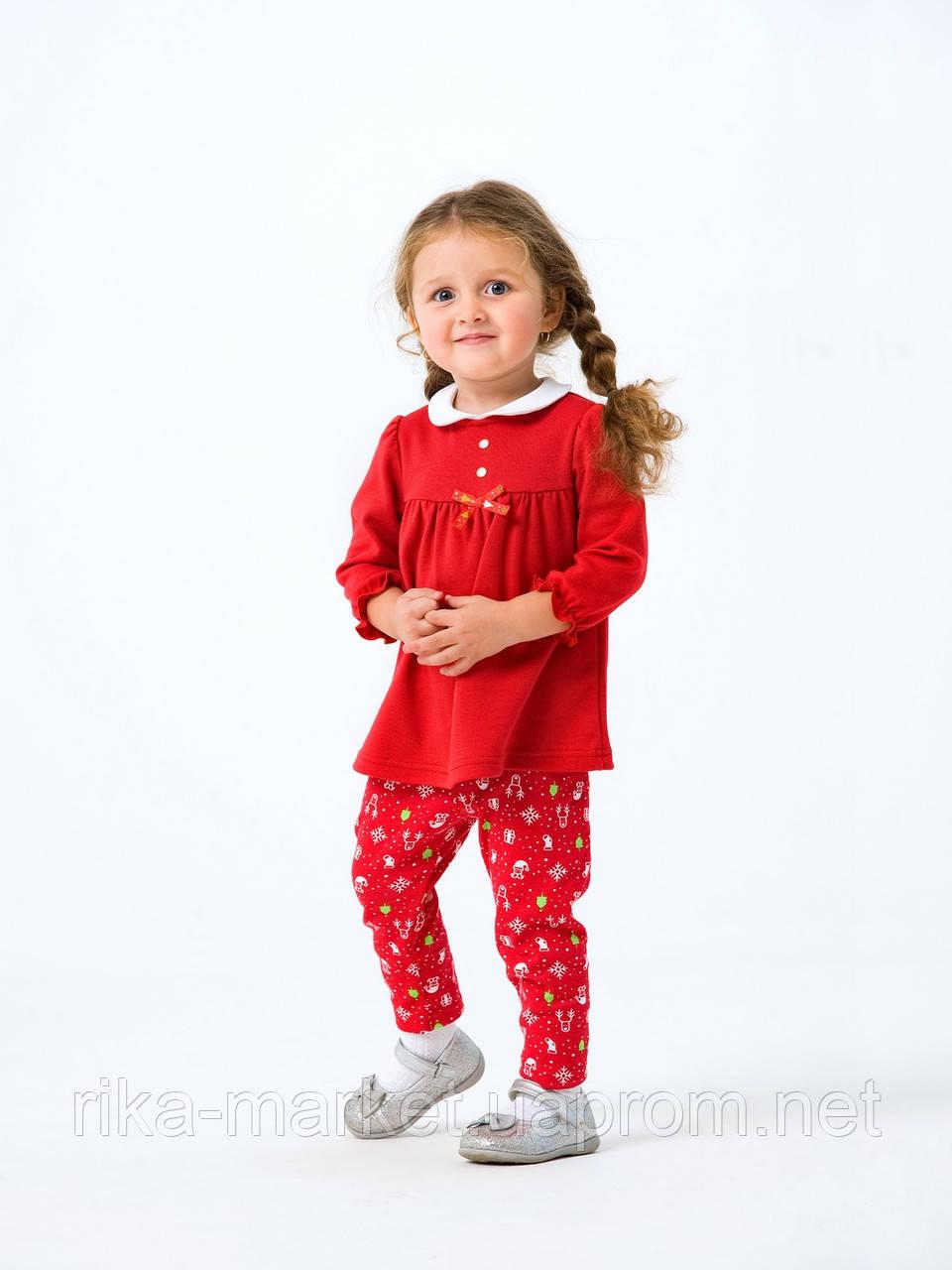 Комплект платье и лосины для девочки Smil в коробке, 109976, от 6 до 18 месяцев