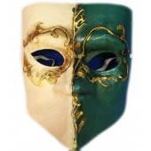 Маска карнавальная Венецианская папье-маше (16,5см), фото 2