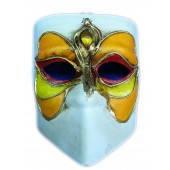 Маска карнавальная Венецианская папье-маше (16,5см), фото 3