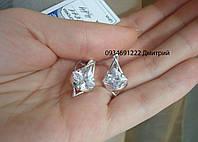 Серебряные серьги арт. 21011