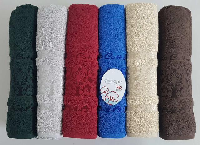 фотография турецкие махровые полотенца