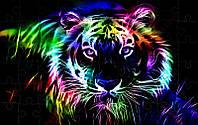Пазл - Таїнство тигра 180х130 мм
