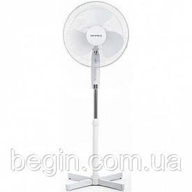 Вентилятор напольный Supra SSF-30 белый