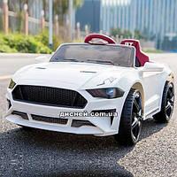 Детский электромобиль T-7625 EVA WHITE Ford Mustang, белый