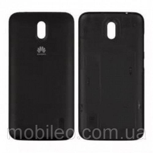 Задняя крышка Huawei Y600-U20 чёрная