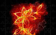 Пазл - Цвет пламени 180х130 мм