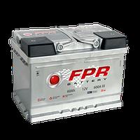 Аккумулятор автомобильный 6СТ-60Ач. 600A. FPR