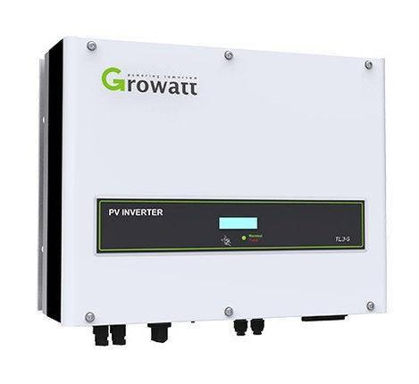 Мережевий інвертор Growatt 10000-UE 10кВт 3 фази 2MPPT, фото 2