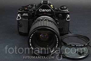 Canon A-1 kit Hoya HMC 28-85mm f4.0