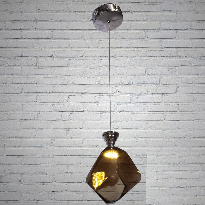 Люстра  классическая, хай-тек, 550/1CF кофейная, подвесная