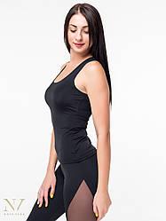 Спортивная Женская Майка-Боксерка Nova Vega Black