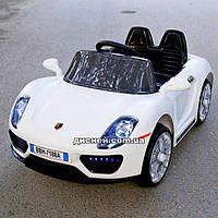 Детский электромобиль T-7616 EVA WHITE Porsche, белый