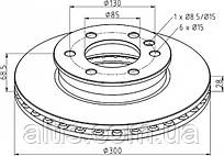9064210012 / Тормозной диск Ø300x68,5x28 MERCEDES-BENZ Sprinter, SPRINTER II
