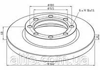 4254210012 / Тормозной диск Ø380x68x30 MERCEDES-BENZ