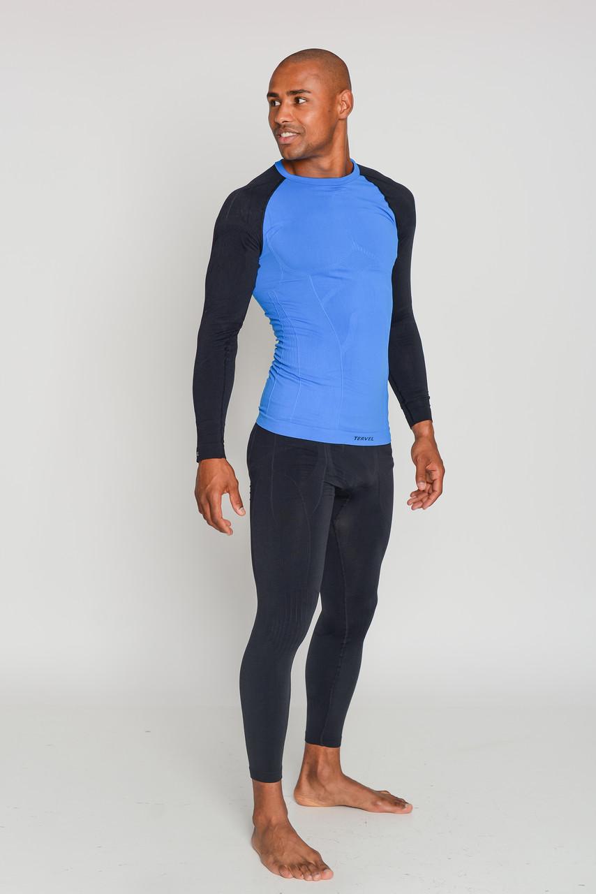Термокофта мужская спортивная Tervel Comfortline (original), лонгслив, кофта, термобелье зональное, бесшовное SportLavka
