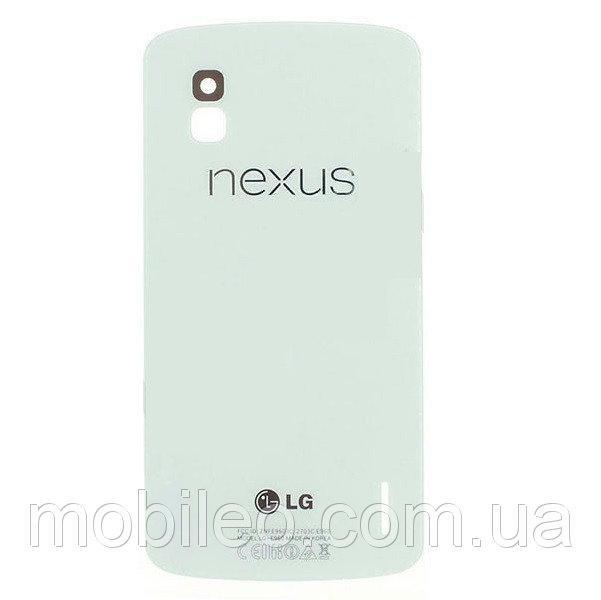 Задняя крышка LG E960 Nexus 4 белая