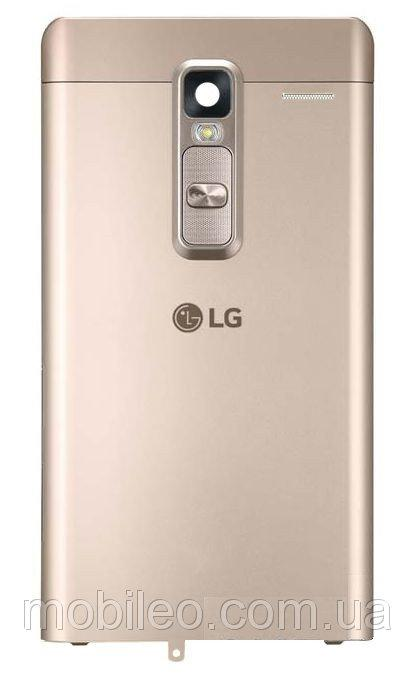 Задняя крышка LG H650E Zero золотистая оригинал