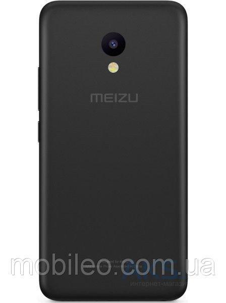 Задняя крышка Meizu M5 чёрная