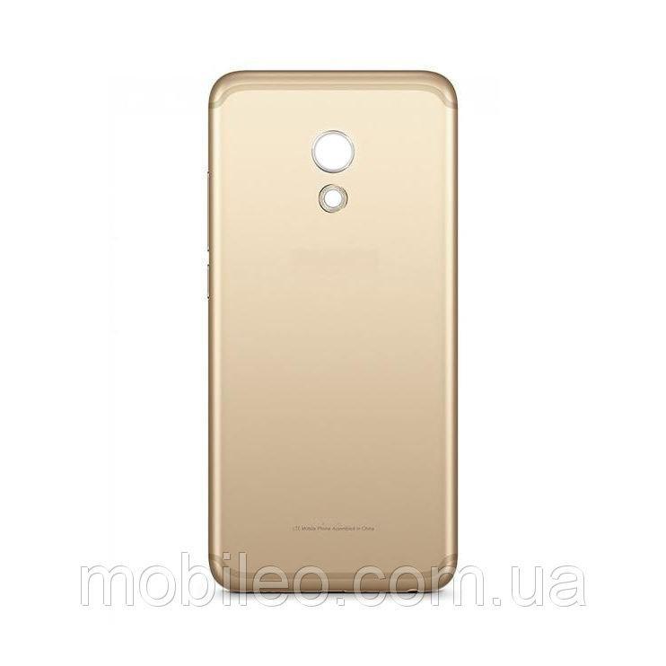 Задняя крышка Meizu Pro 6 золотистая ориг. к-во